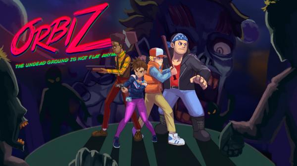 Orbiz - game zombie dengan tema retro racikan Anoman - studio developer asal Surabaya.