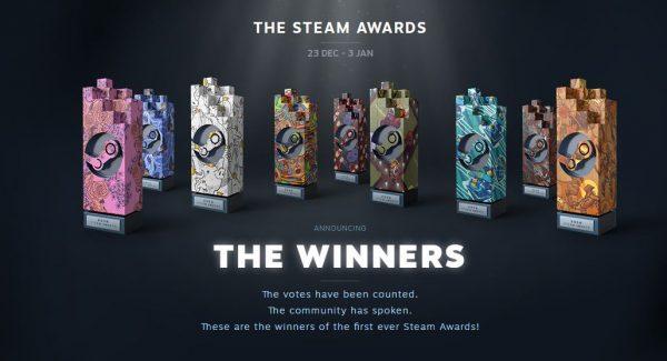 Pemenang untuk Steam Awards 2016 akhirnya diumumkan!