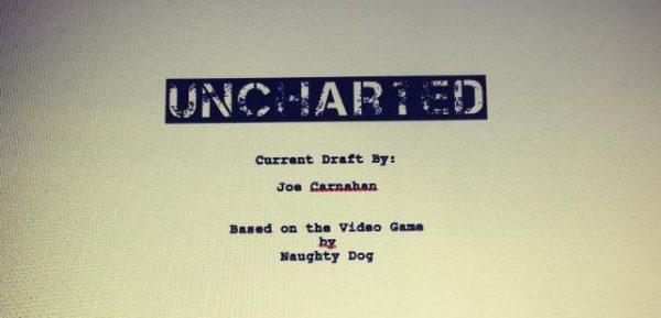 Joe Carnahan memperlihatkan draft naskah film Uncharted yang sudah rampung.
