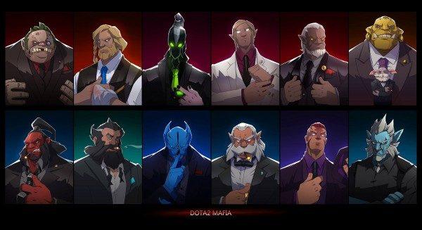 DOTA 2 mafia