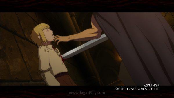 Kegelapan dan tema dewasa versi manga / anime dipertahankan, namun tentu tak eksplisit. Dari adegan membunuh anak kecil.