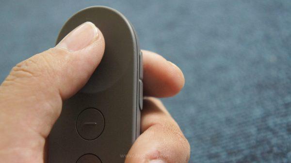 """Tak sekedar untuk ditekan sebagai tombol """"konfirmasi"""", lingkaran ini juga memuat fungsi sentuh untuk navigasi."""