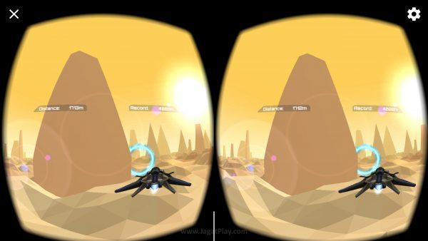 """Game """"sederhana"""" Polyrunner VR ini justru yang tampil mengejutkan. Ia menunjukkan fungsi motion sensor Daydream yang unik dan berbeda."""