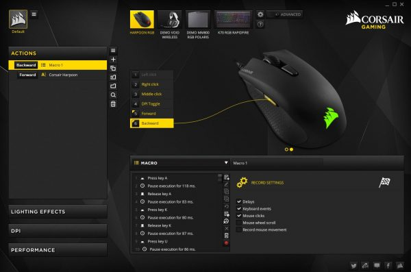 Sebuah mouse seharga 350 ribu Rupiah dengan modifikasi fungsi yang lumayan beragam? Wow!