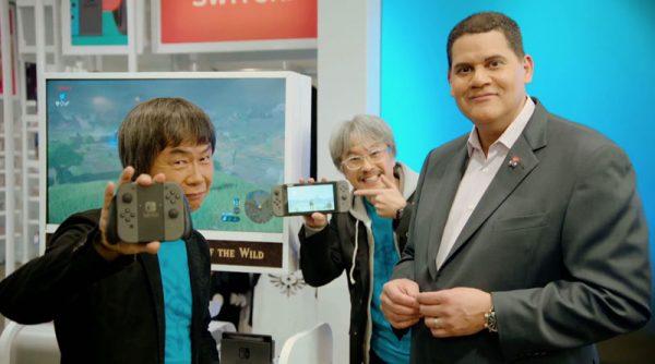 Dalam wawancara terbarunya dengan TIME, Miyamoto menjelaskan peran mendiang Iwata untuk Switch.