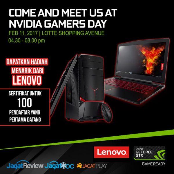 Hanya untuk 200 pendaftar, Techo Update untuk membahas teknologi gaming bersama Lenovo dan sesi OC bersama Alva Jonathan ini terbatas lho!