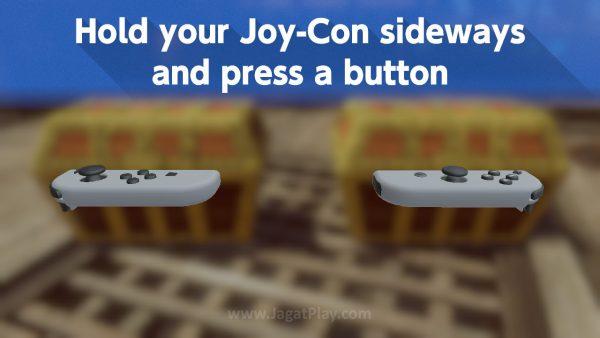 Ia didesain untuk mengeksplorasi tiap sudut teknologi Joy-Con, dari gyro, accel, sensor jarak, hingga HD rumble.
