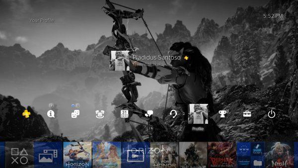 """Playstation 4 akhirnya meluncurkan firmware baru 4.50 """"Sasuke"""" dengan banyak fitur baru. Termasuk kemampuan untuk mengganti hasil screenshot Anda sebagai background."""