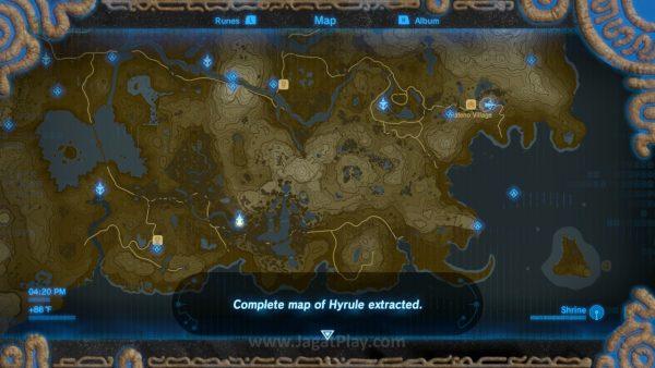 Ia mengikuti skema serupa dengan Skyrim perihal penanganan peta. Bahwa Anda harus mengekplorasi dunianya untuk menemukan icon, dan bukannya icon yang menentukan kemana Anda harus pergi selanjutnya.