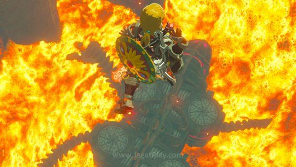 Ia kembali harus mengambil alih kendali para Divine Beasts yang awalnya didesain untuk menghancurkan Ganon.
