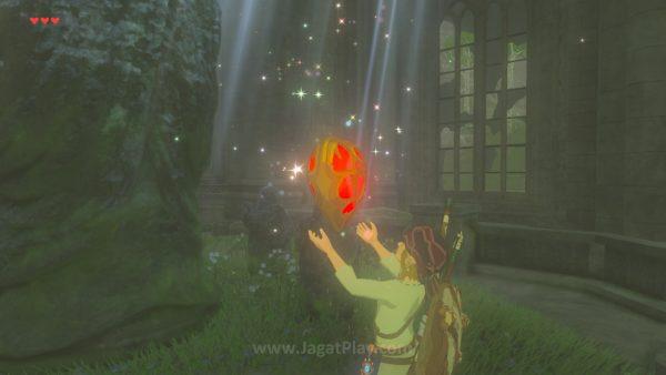 Link akan berhak untuk memperkuat sisi HP atau Stamina-nya setiap kali ia berhasil mengumpulkan 4 buah orb.