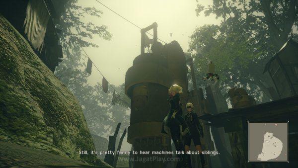 Misi sampingan berakhir memperluas perspektif Anda terkait dunia NieR: Automata itu sendiri.