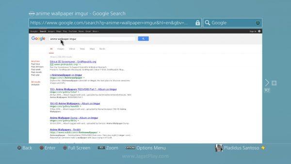 Masukkan kata kunci pencarian + imgur / situs gambar lain yang memungkinkan Anda membuka gambar dalam format full-screen.