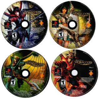 legend of dragoon multiple disc