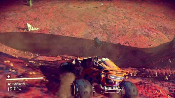 """Update terbaru No Man's Sky yang diberi nama """"Path Finder"""" menambahkan banyak konten baru, termasuk sebuah rover."""