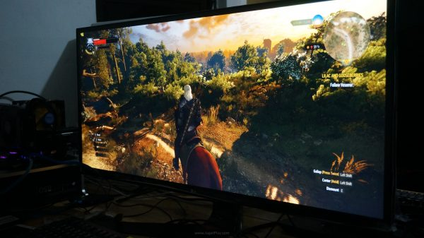 The Witcher 3: Wild Hunt in action!