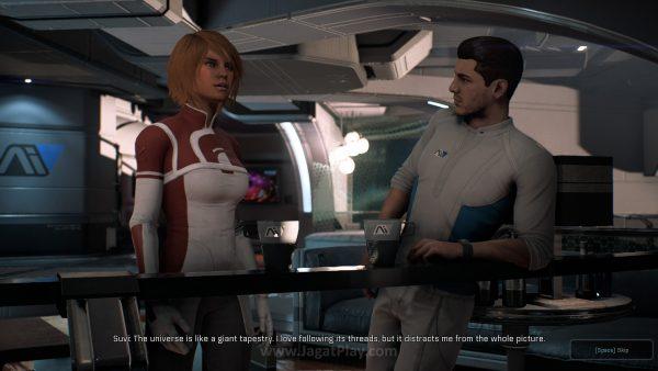 Andromeda membuat kami merindukan sistem Paragon -Renegade.