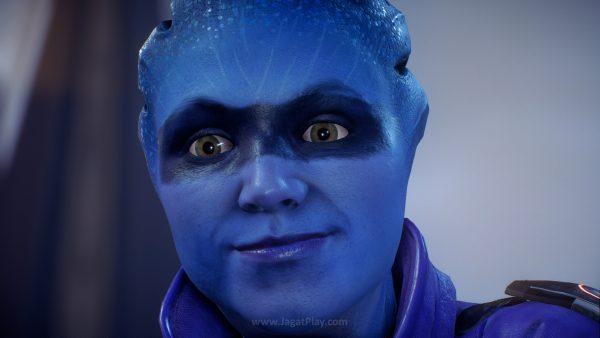 Tak pernah tepat, ekspresi wajah karakter di Andromeda selalu berakhir satu di antara dua skenario ini: hampa atau justru terlalu berlebihan.