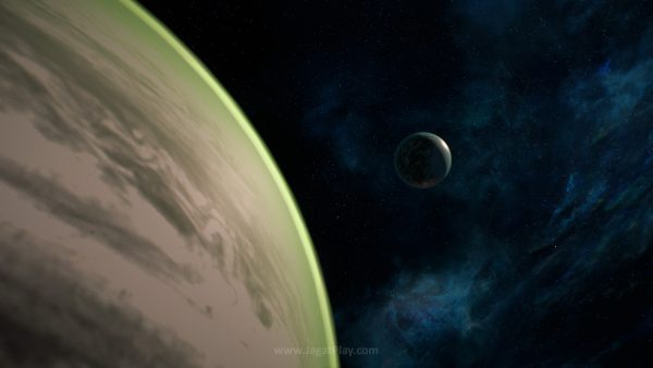Animasi perpindahan planetnya siap untuk membuat Anda gantung diri.
