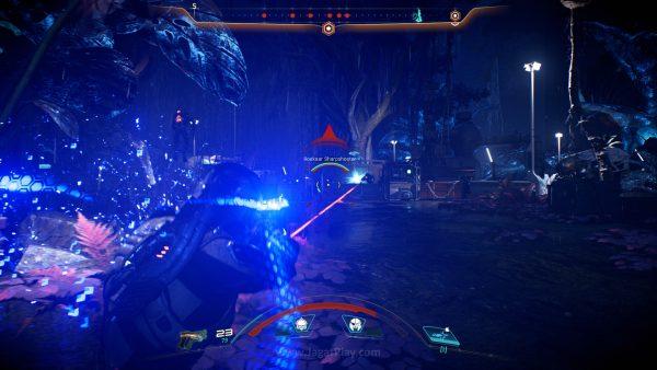 Tak hanya ragam senjata yang bisa Anda gunakan, Ryder juga bisa menggunakan tiga skill berbeda.