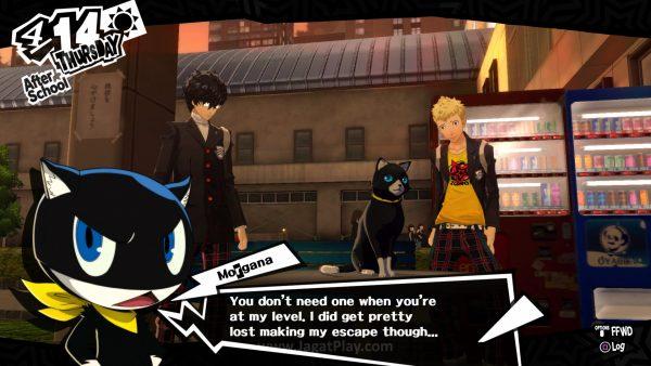 Morgana menjelaskan bahwa dengan mencuri harta kartun terpenting di dalam Palace, Anda bisa mengubah hati dan tingkah laku sang pemilik Palace.