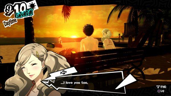 Persona 5 juga menyisipkan momen dan event khusus yang hanya akan terjadi jika Anda sudah punya hubungan romantis dengan karakter yang ada.