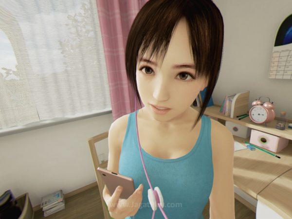 Kekuatan Summer Lesson juga terletak pada detail wajah Hikari yang mampu memproyeksikan banyak emosi dengan tepat.