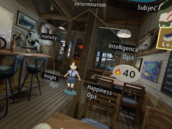 Hikari punya ragam status untuk dijadikan objektif utama.