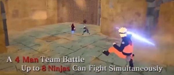 Naruto to Boruto: Shinobi Striker akan menawarkan pertarungan 4 vs 4 online sebagai fokus.