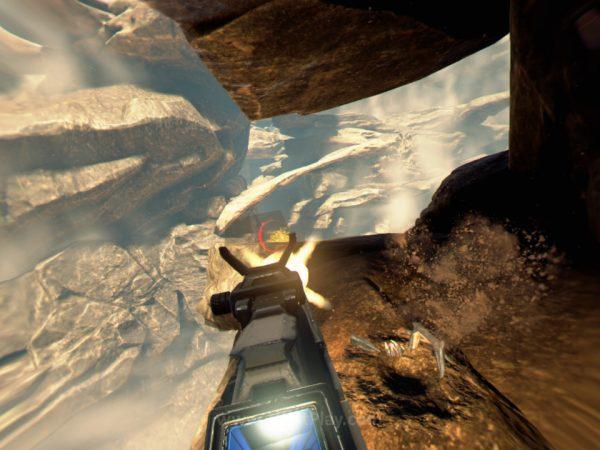 Dari urusan gameplay, Farpoint memang tidak terasa istimewa sebagai sebuah game FPS.