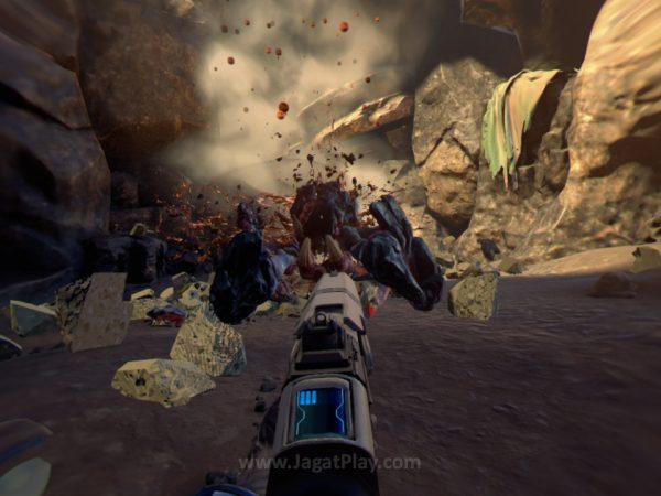 Farpoint bahkan tak menawarkan ekstra lapisan gameplay seperti progress karakter atau sejenisnya untuk membuatnya lebih menarik.