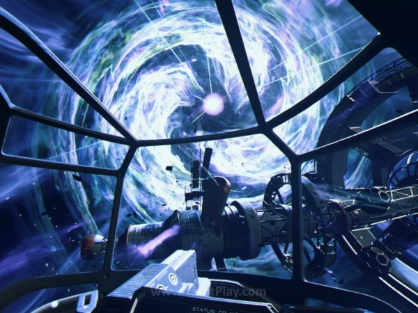 Namun secara tiba-tiba, wormhole yang jadi objek penelitian tim ini terbuka lebar dan menelan semuanya, termasuk Anda.