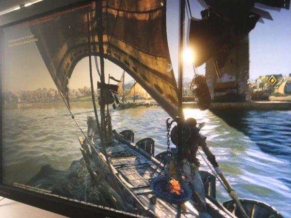 Screenshot Assassin's Creed: Origins ini bocor via Reddit.