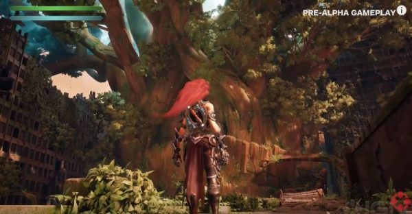 """Masih dalam tahap """"pre-alpha"""", Gunfire Games memperlhatkan seperti apa kira-kira gameplay Darksiders 3."""