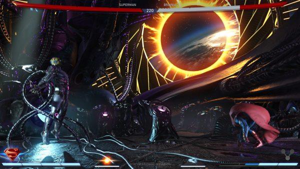 Tak sekedar soal kombinasi serangan saja, tetapi timing memanfaakan bar power untuk memperkuat serangan spesial yang ada juga jadi kunci penting di Injustice 2.