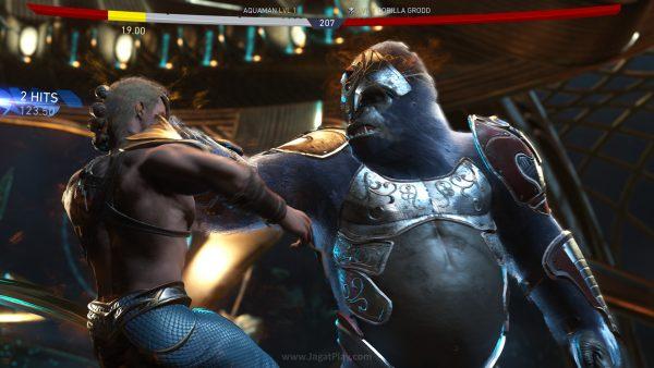 Ukuran karakter bukan sekedar kosmetik. Ia juga mempengaruhi karakteristik gameplay, dari damage hingga interaksi serangan berbasis lingkungan seperti apa yang bisa ia lakukan.