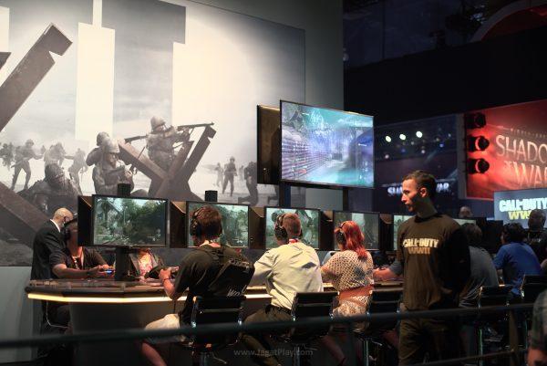 COD: WW2 juga tidak kalah ramai oleh para gamer yang ingin mencoba COD terbaru ini.