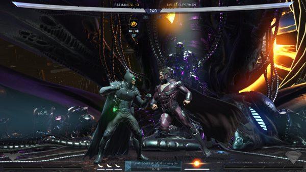 Kehadiran sistem ini membuat dinamika Injustice 2 menjadi unik. Karakter yang sama, kini bisa memiliki karakteristik dan kemampuan yang berbeda ketika mengusung equipment tertentu, terutama ketika bertarung secara online.