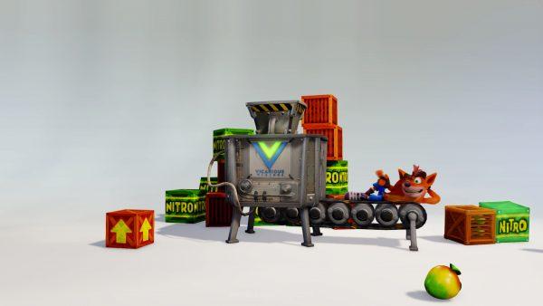 Crash Bandicoot N.Sane Trilogy merupakan Remaster dari tiga seri pertama Crash Bandicoot di Playstation pertama.