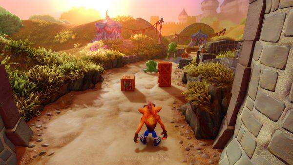 Crash Bandicoot Remaster berhasil jadi yang pertama, menundukkan rilis baru game eksklusif Switch - Splatoon 2.