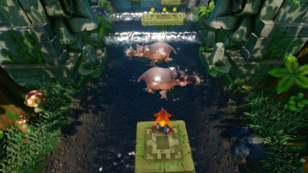 """Tak ada usaha untuk """"mengubah"""" gameplay yang ada. Kecepatan gerak dan reaksi Crash juga masih terasa sama di seri Remaster ini."""