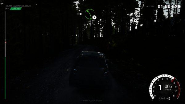 Ketika Anda membalap dengan hanya mengandalkan navigasi.