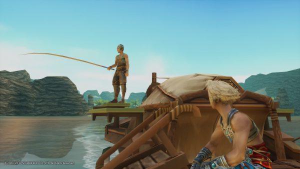 Melewatkannya di era PS2 dulu,, kami baru sadar bahwa game ini punya fitur memancing!