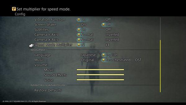 Turbo Mode menjawab keluhan soal lambatnya FF XII di versi original!