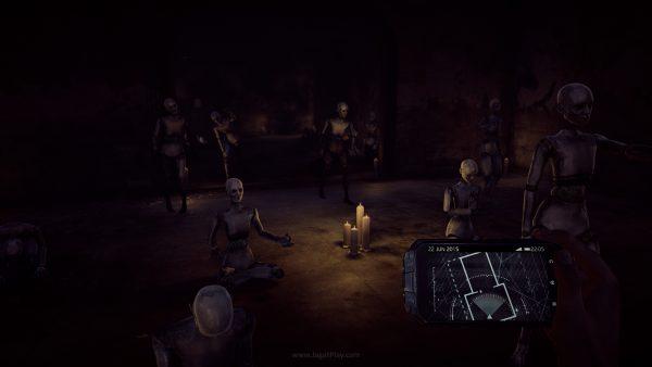 """Sesi thriller akan mengakar pada sesi gameplay Anda di fasilitas mental yang """"mengurung"""" Black."""