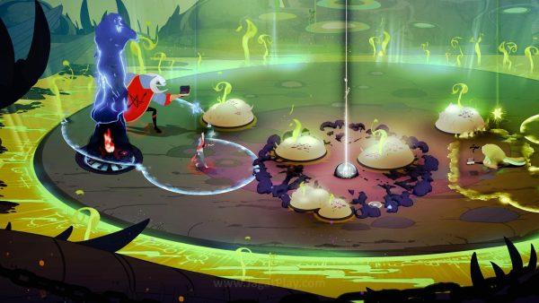 Animasi gerak ketika bertarung, misalnya, juga terlihat halus.