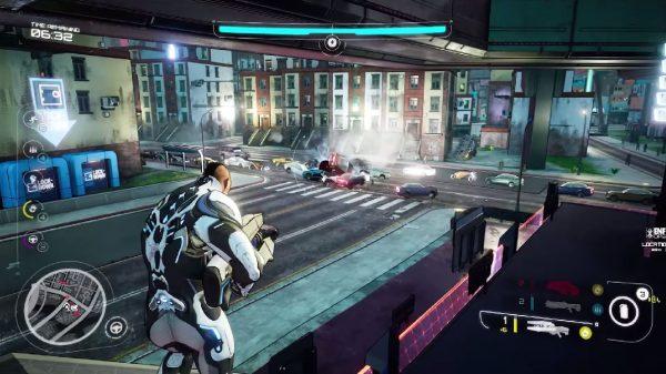 "Lewat channel Youtube ""theRadBrad"", Crackdown 3 memperlihatkan gameplay baru versi Xbox One X."