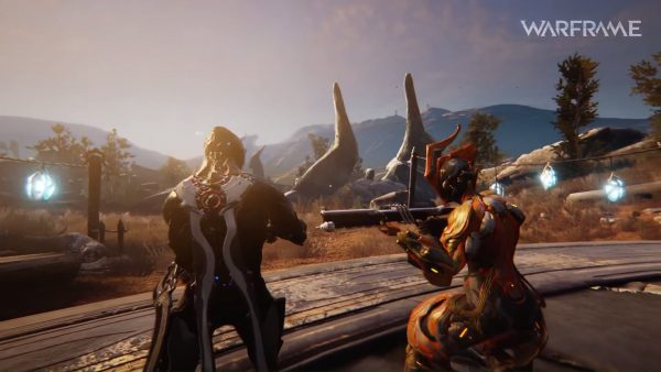 Warframe akan menghadirkan gameplay open-world ala Anthem atau Destiny via update terbaru - Plains of Eidolon.