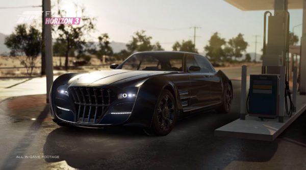 Mobil FFXV - Regalia akan menuju Forza Horizon 3 sebagai DLC cuma-cuma.