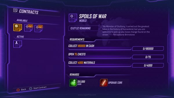"Daftar ini adalah satu-satunya ""multiplayer"" yang Anda dapatkan di Agents of Mayhem."